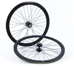 State Bicycle Fixed Gear:Single Speed Deep Profile Wheel Set