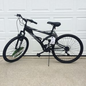Generic-2622-Hyper-Havoc-Full-Suspension-Mens-Mountain-Bike-Black