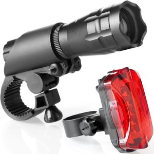 TeamObsidian-Bike-Light-Set-Super-Bright-LED-Lights-for-Your-Bicycle-Easy-to-Mount-Headlight-and-Taillight-with-Quick-Release-System-Best-Front-and-Rear-Cycle-Lighting-Fits-All-Bikes