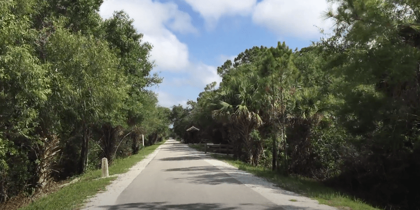 The Best Bicycle Trails in Florida - Legacy Trail in Sarasota