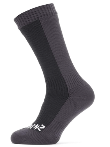 SEALSKINZ Unisex Waterproof Cold Weather Mid Length Sock