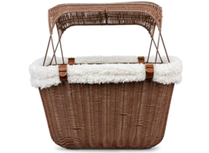 Best Bicycle Front Rack Basket - PetSafe Happy Ride Wicker Bicycle Basket