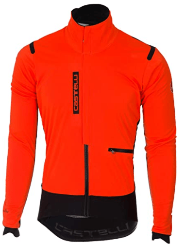 best cold weather bicycle gear 8. Castelli Mens Alpha ROS Jacket