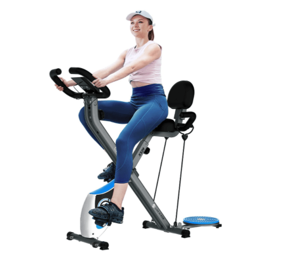 best exercise bike for small spaces - cycool X-back88 Foldable Exercise Bike