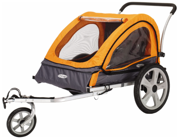 Best Bicycle Trailer for Kids - Instep Quick-N-EZ Double Tow Behind Bike Trailer for Toddlers