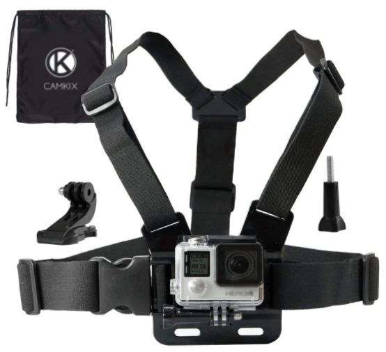Accessories for Mountain Bikes - CamKix Chest Mount Harness