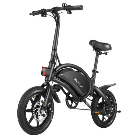 ANCHEER 14 Inch Wheel Folding Electric Bike - electric bicycles under $500