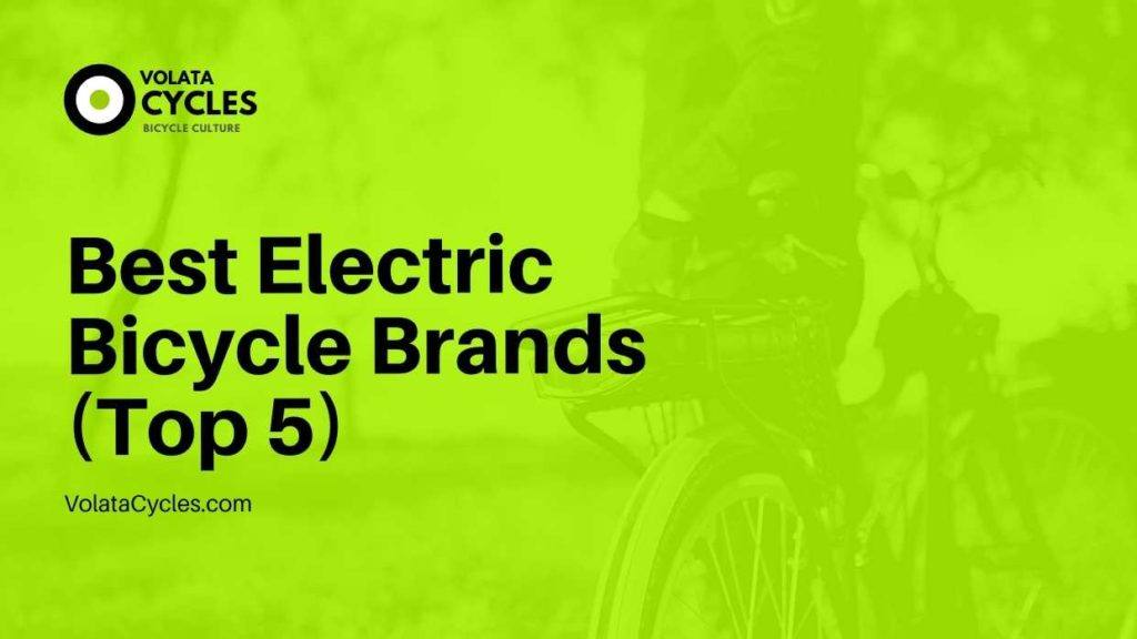 Best Electric Bicycle Brands (Top 5)