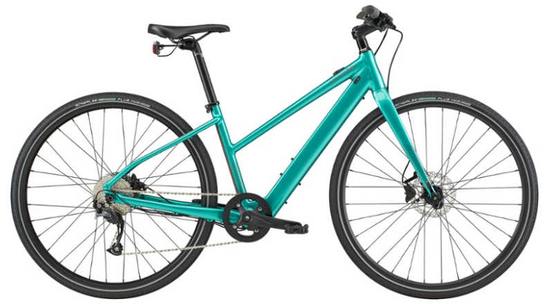 Cannondale Quick Neo SL 2 Remixte Electric Bike - Types of Electric Bicycles