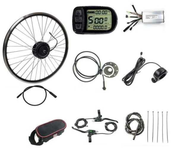 Schuck Front Wheel Electric Bicycle Conversion Motor Kit - Types of Electric Bicycles
