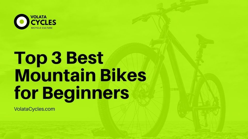 Top 3 Best Mountain Bikes for Beginners