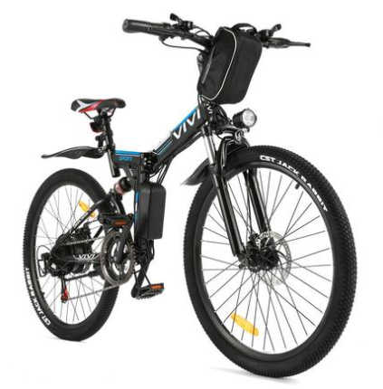 Vivi 21 Speed Electric Mountain Bicycle - electric bicycles under $500