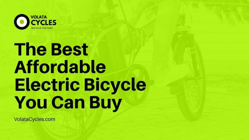 Best Affordable Electric Bicycle