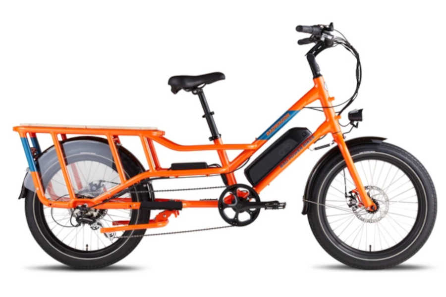 RadWagon 4 Electric Cargo Bike - Electric Bicycle for Heavy Riders