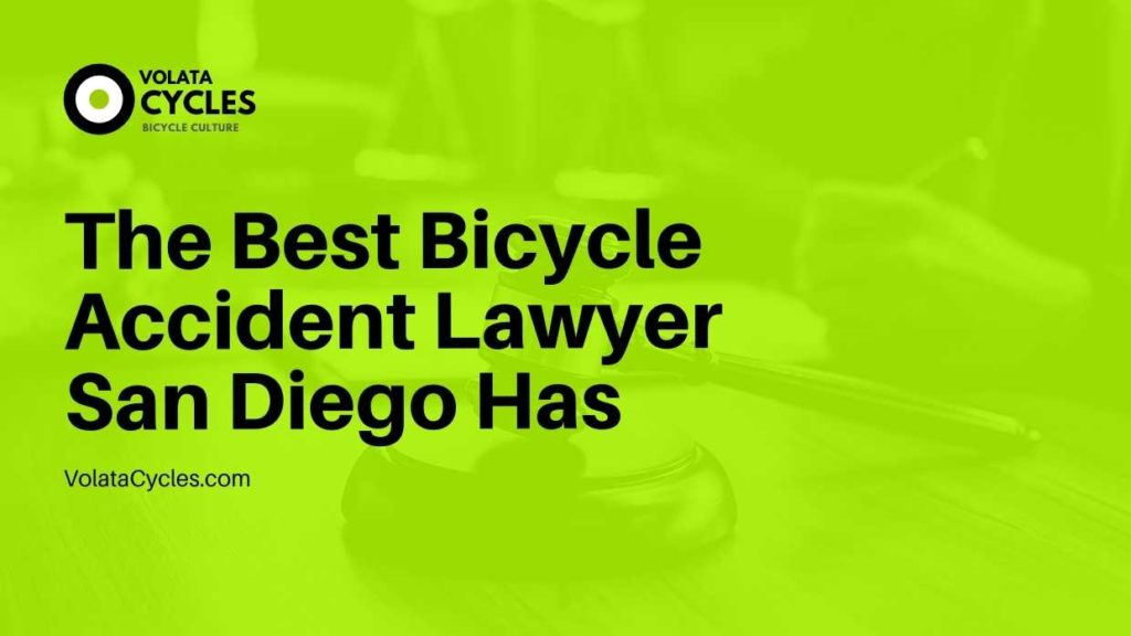 The Best Bicycle Accident Lawyer San Diego Has