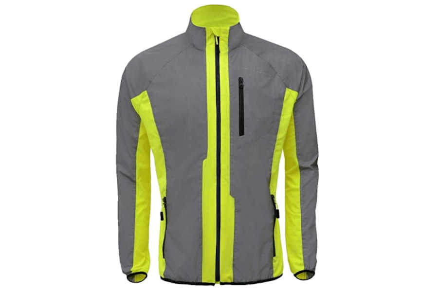 DFTD High Visibility Breathable Reflective Cycling Jacket